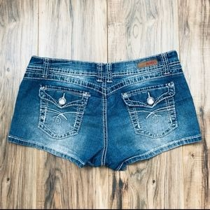 BONGO denim short shorts